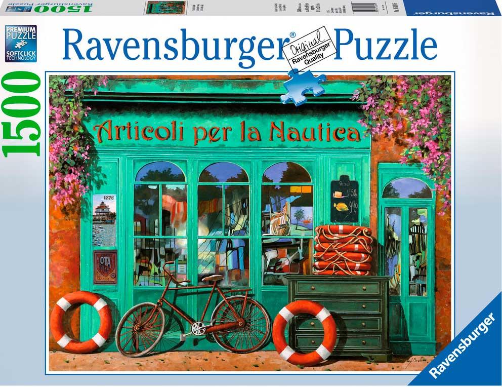 Puzzle Ravensburger Bicicleta Roja de 1500 Piezas