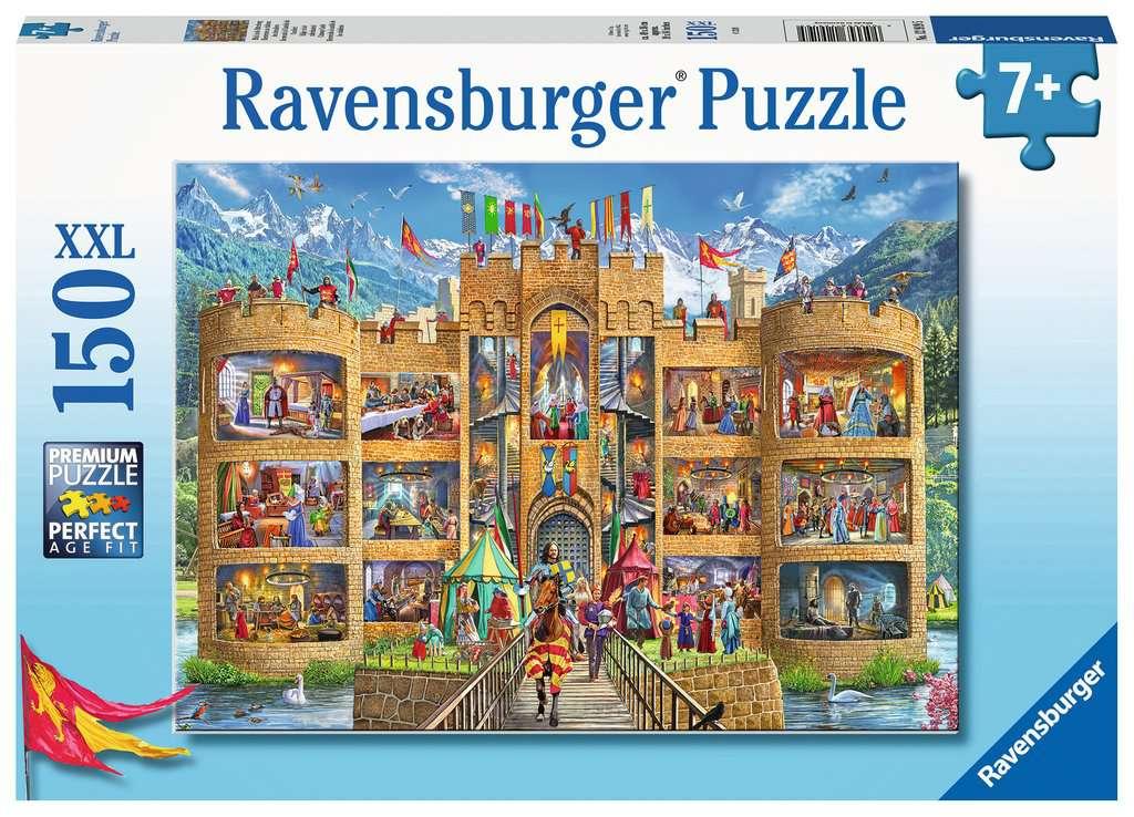 Puzzle Ravensburger Bienvenido al Castillo XXL de 150 Piezas