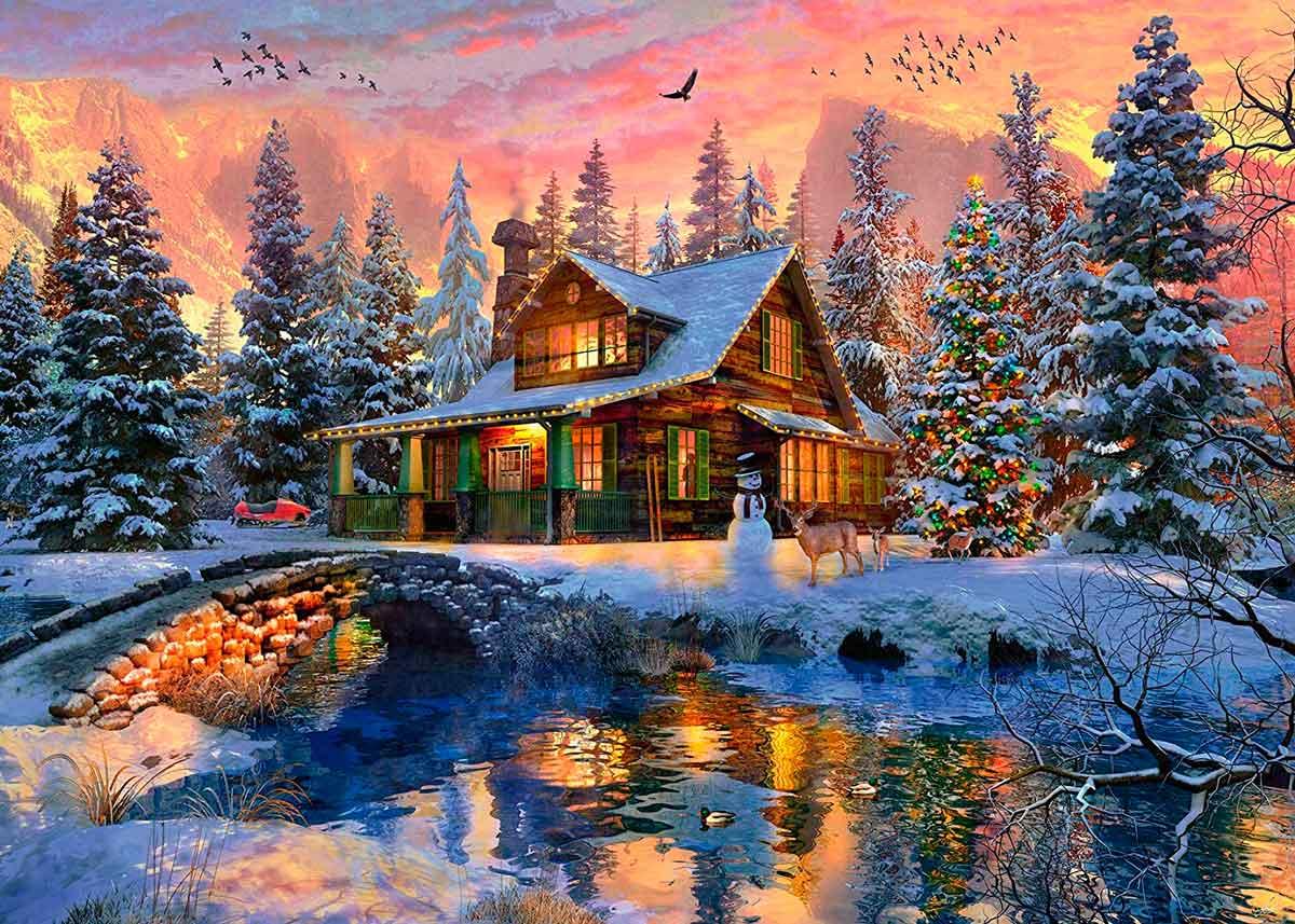 Puzzle Ravensburger Blanca Navidad 1000 Piezas