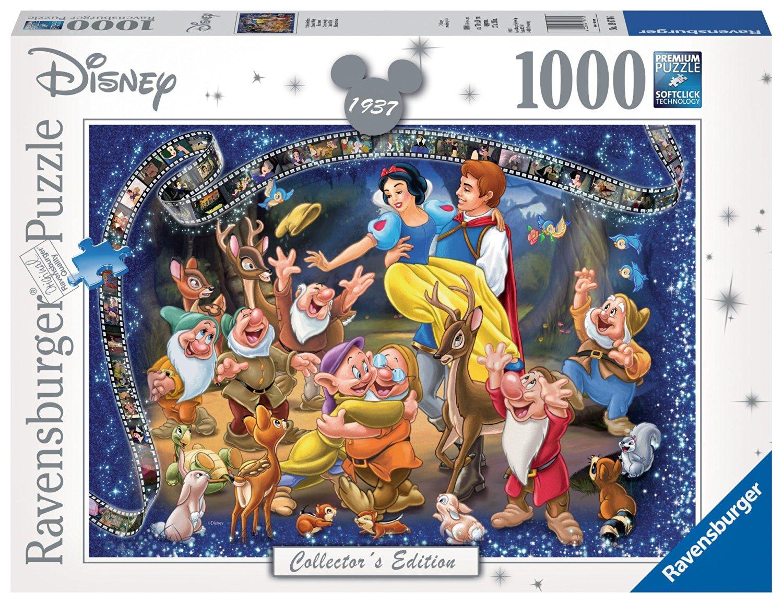 Puzzle Ravensburger Blancanieves y los Siete Enanitos 1000 Pieza