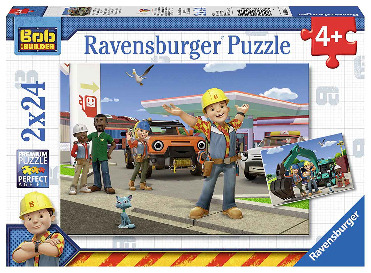 Puzzle Ravensburger Bob The Builder 2x24 Piezas