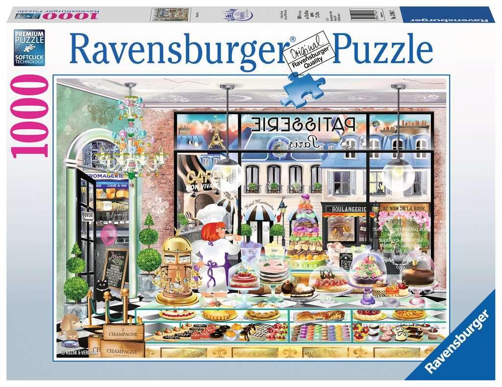 Puzzle Ravensburger Bonjour París de 1000 Piezas