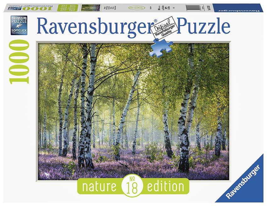 Puzzle Ravensburger Bosque de Abedules de 1000 Piezas