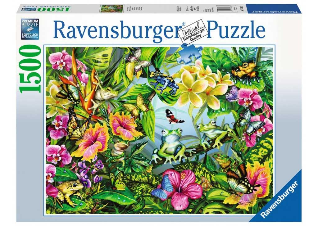 Puzzle Ravensburger Busca las Ranas de 1500 Piezas