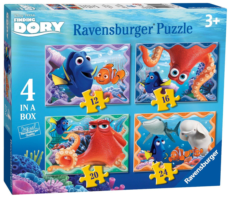 Puzzle Ravensburger Buscando a Dory Progresivo de 12+16+20+24 Pi