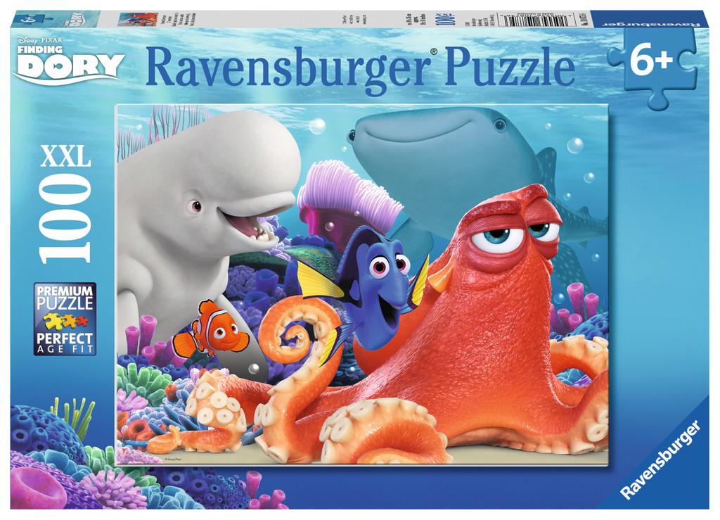 Puzzle Ravensburger Buscando a Dory XXL de 100 Piezas