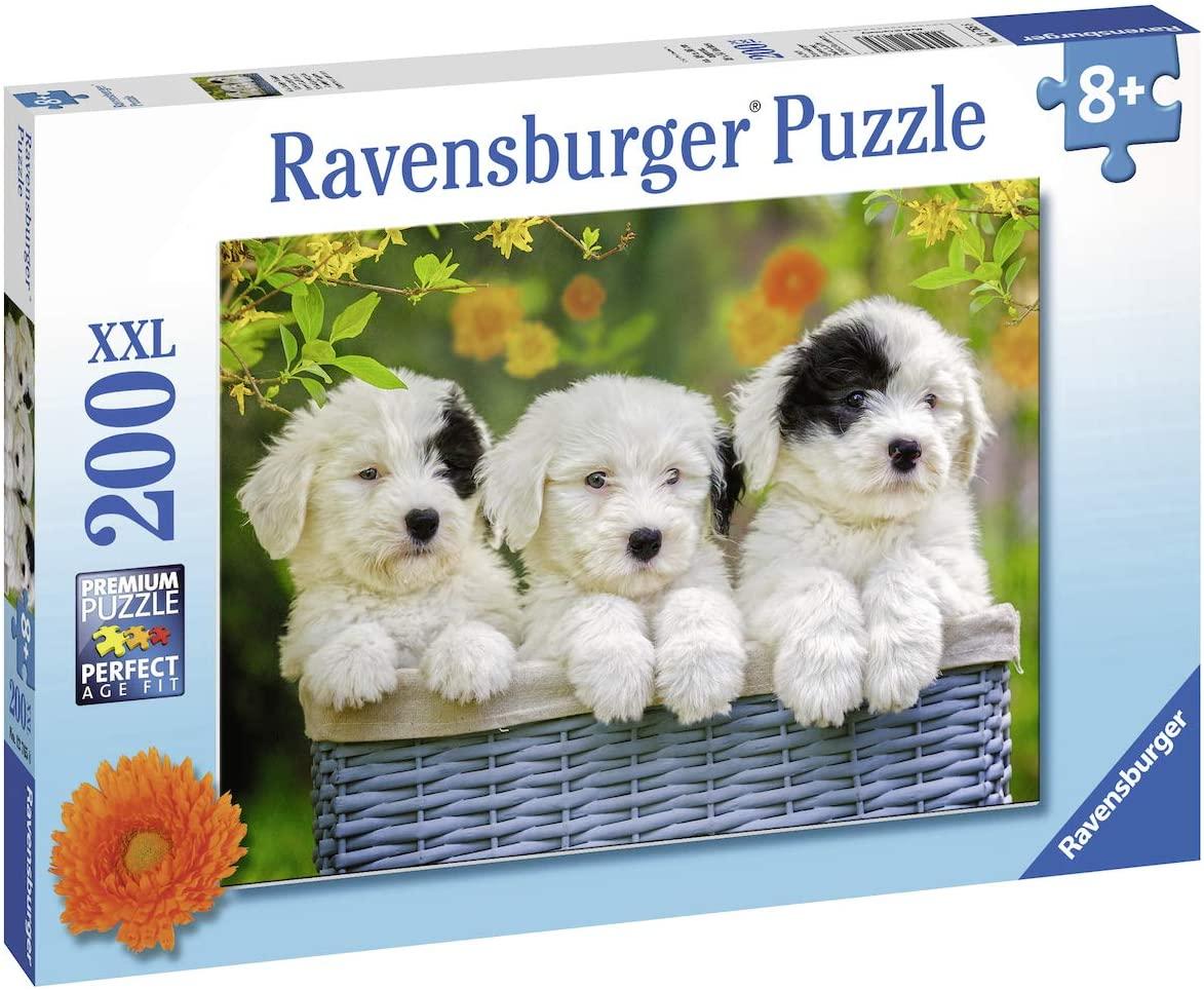 Puzzle Ravensburger Cachorros Mimosos XXL de 200 Piezas