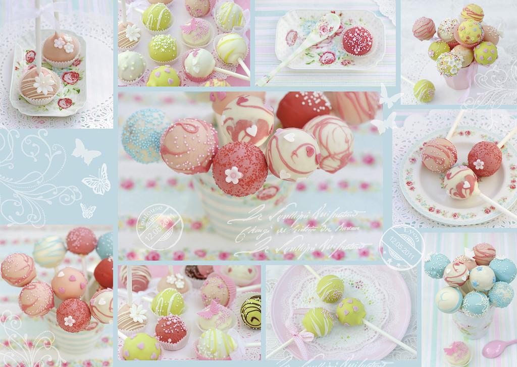 Puzzle Ravensburger Cake Pops Dulces de 1000 Piezas