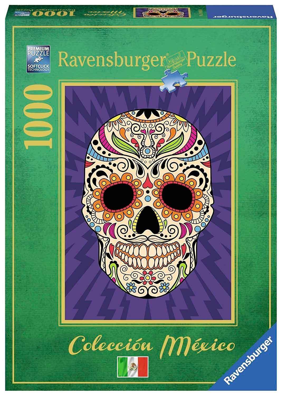 Puzzle Ravensburger Calavera Mexicana 1000 Piezas
