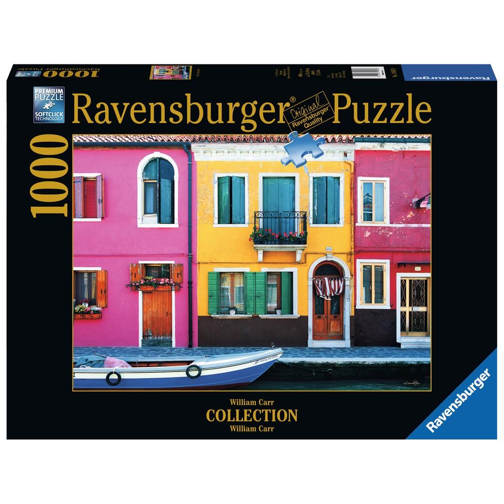Puzzle Ravensburger Calle Graziella, Burano de 1000 Piezas