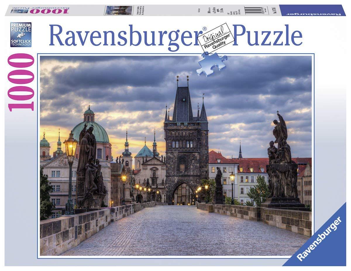 Puzzle Ravensburger Caminando en el Puente San Carlos 1000 Pieza
