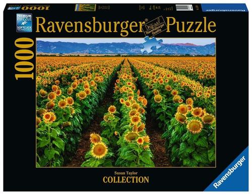 Puzzle Ravensburger Campo de Girasoles 1000 Piezas