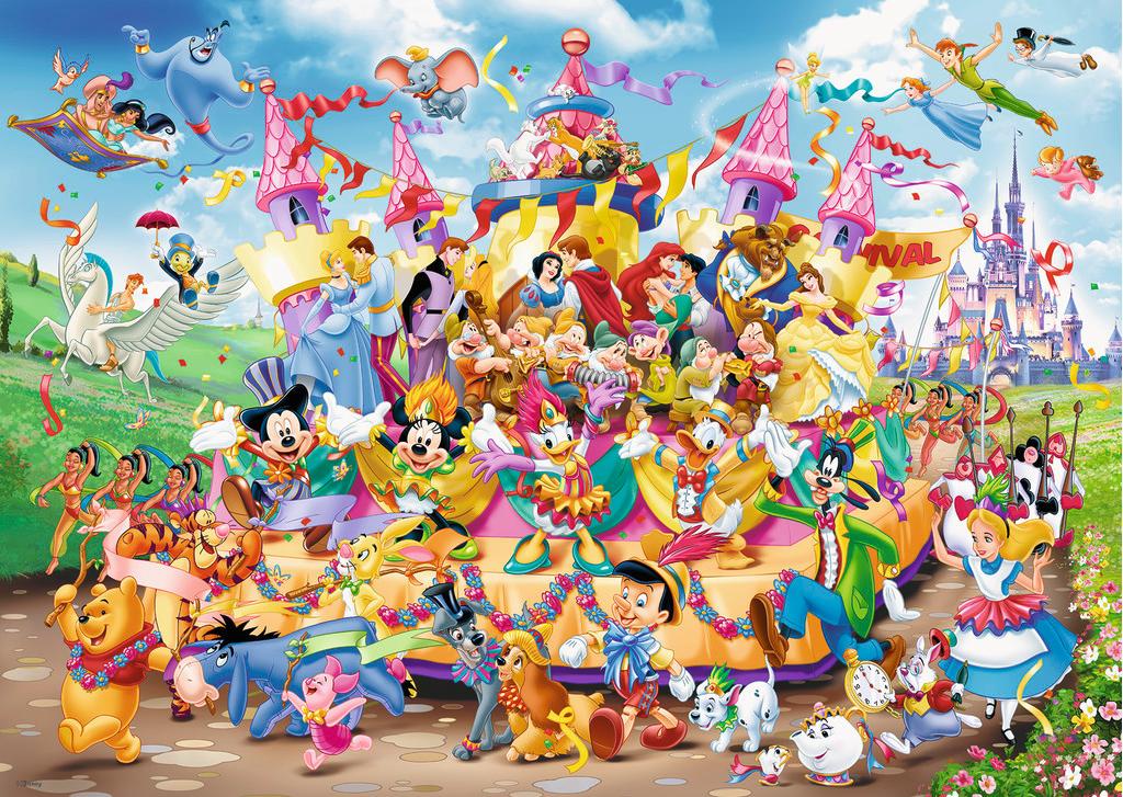 Puzzle Ravensburger Carnaval Disney de 1000 Piezas