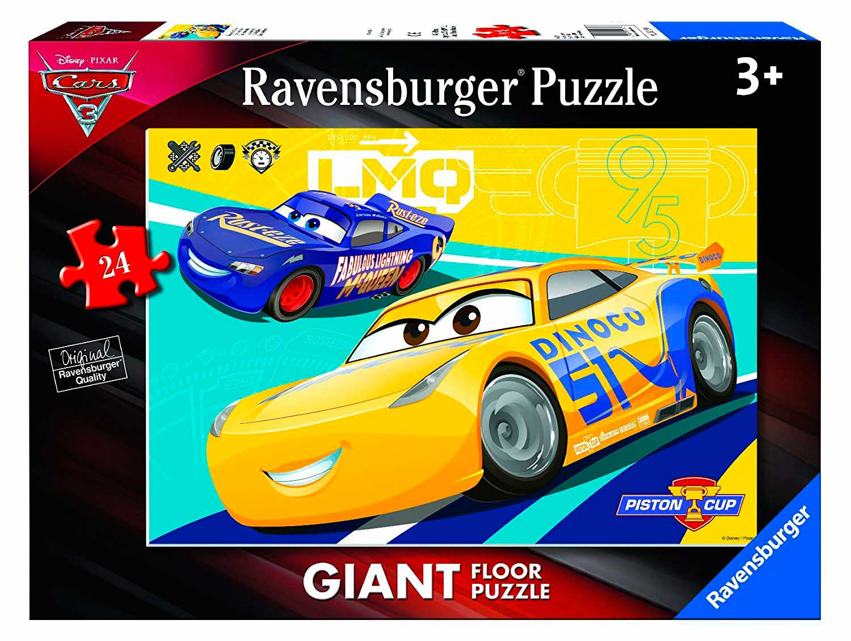Puzzle Ravensburger Cars 3 B, de Suelo de 24 Piezas