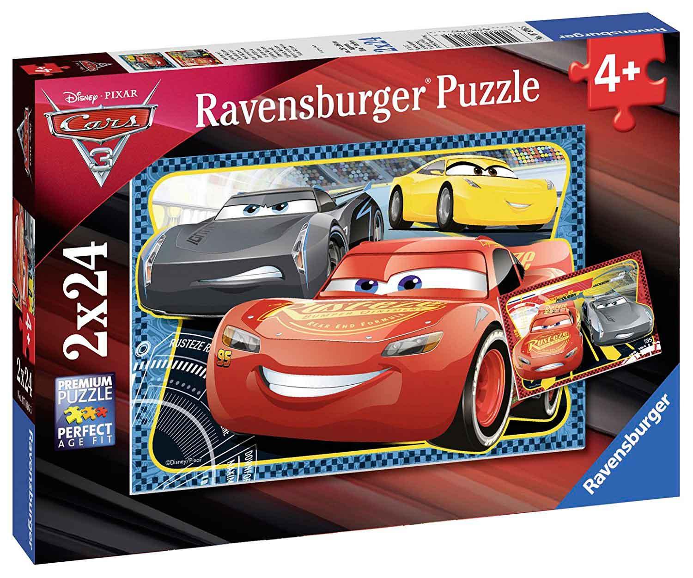 Puzzle Ravensburger Cars 3 de 2x24 Piezas