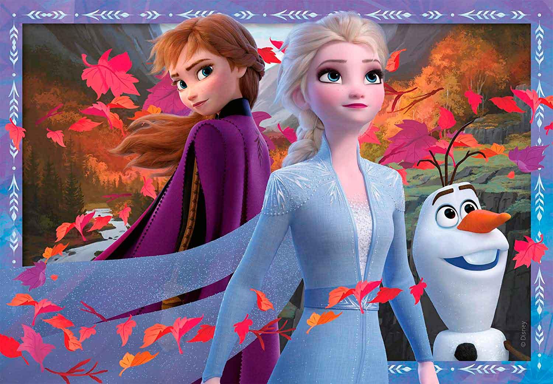 Puzzle Ravensburger Frozen 2 de 2x24 Piezas
