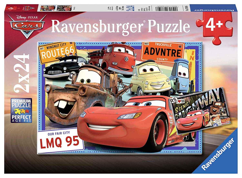 Puzzle Ravensburger Cars de 2x24 Piezas