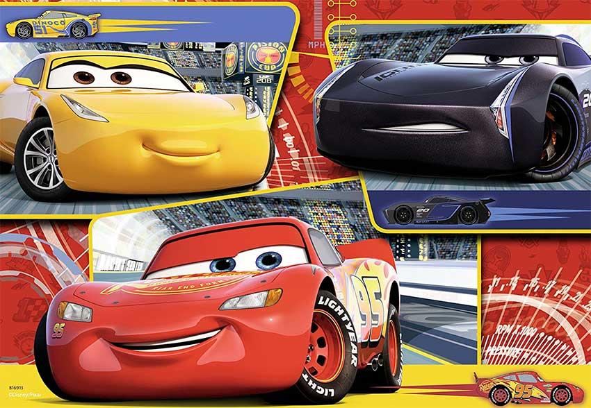 Puzzle Ravensburger Cars 3 de 2 x 24 Piezas