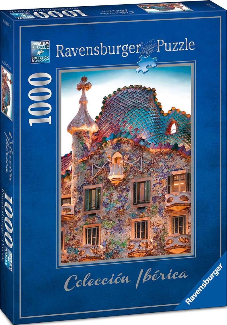 Puzzle Ravensburger Casa Batlló, Barcelona 1000 Piezas