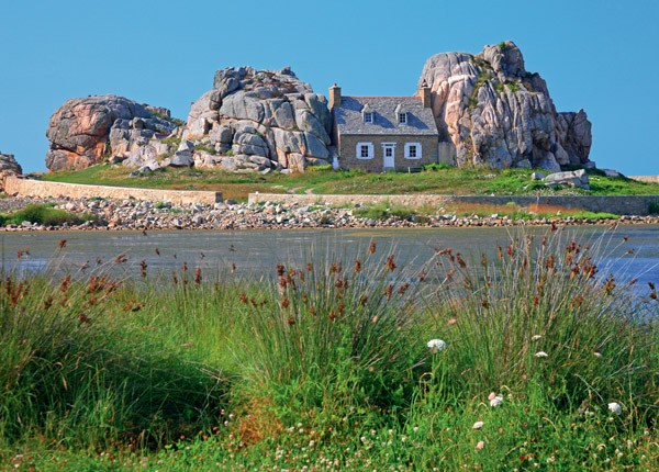 Puzzle Ravensburger Casa en Bretaña de 1000 Piezas