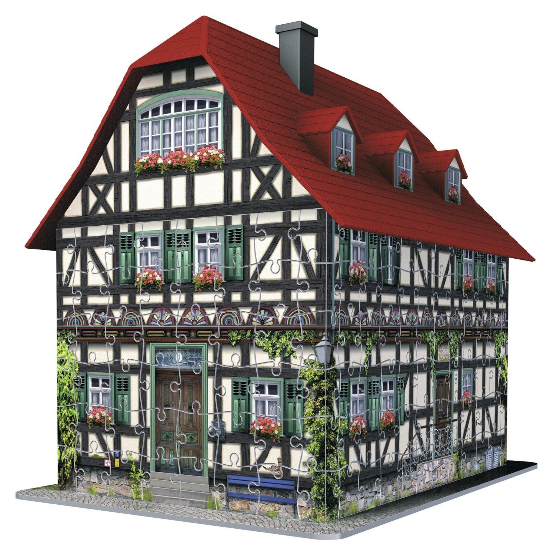 Puzzle Ravensburger Casa Medieval 3D 216 Piezas