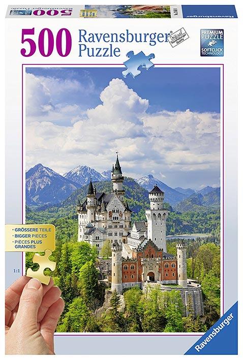 Puzzle Ravensburger Castillo de Cuentos 500 Piezas