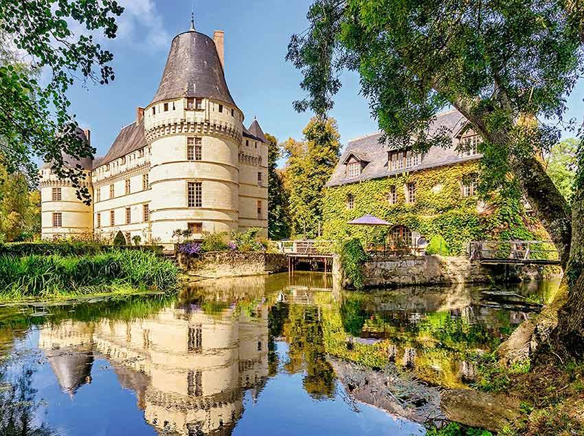 Puzzle Ravensburger Castillo de la Isleta, Francia de 500 Piezas