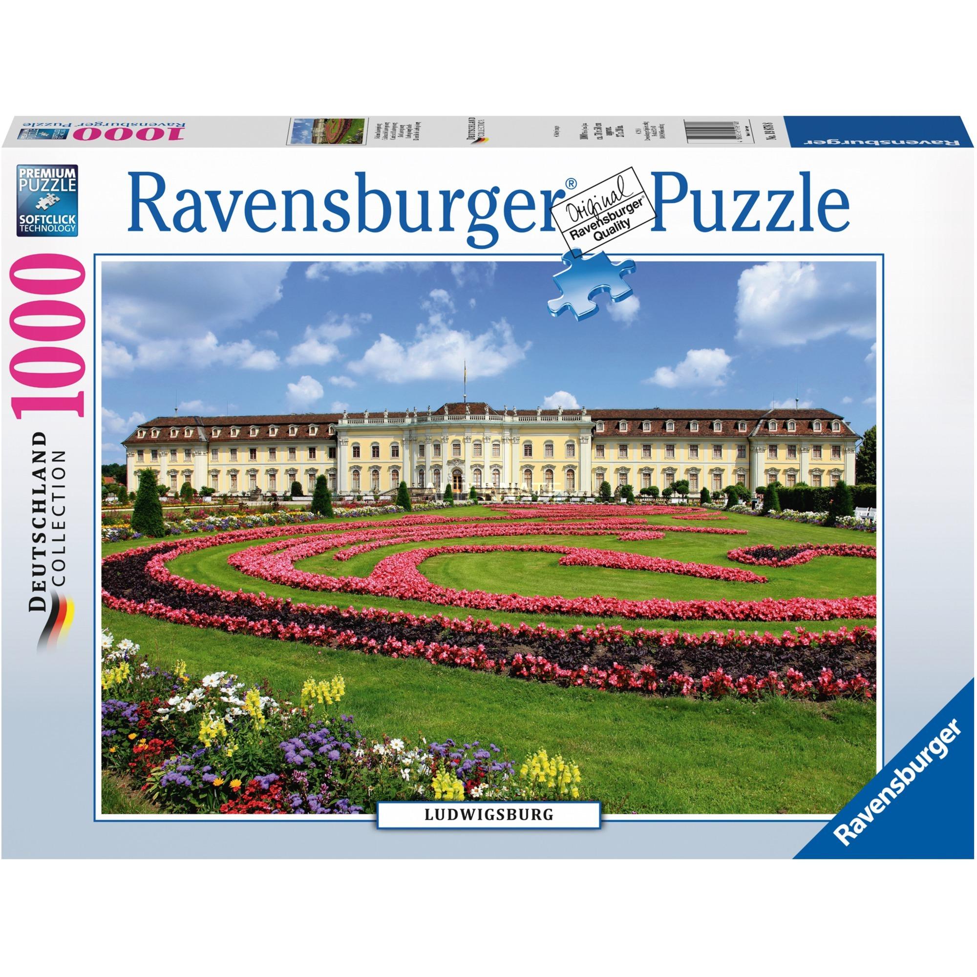 Puzzle Ravensburger Castillo Ludwigsburg de 1000 Piezas