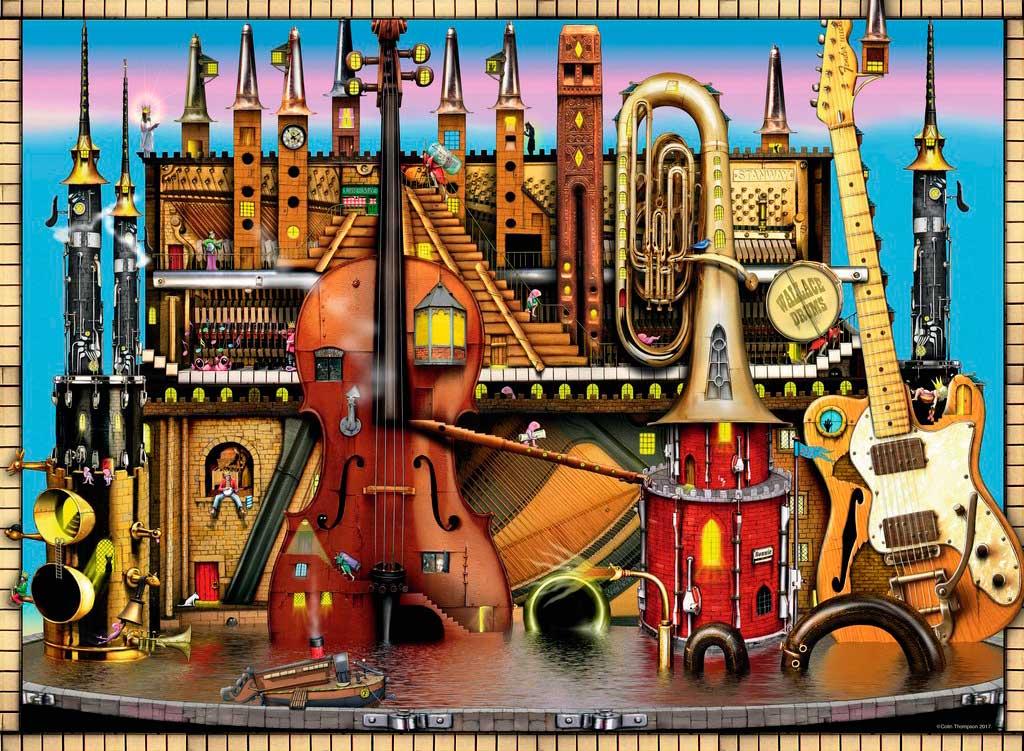 Puzzle Ravensburger Castillo Musical 500 Piezas