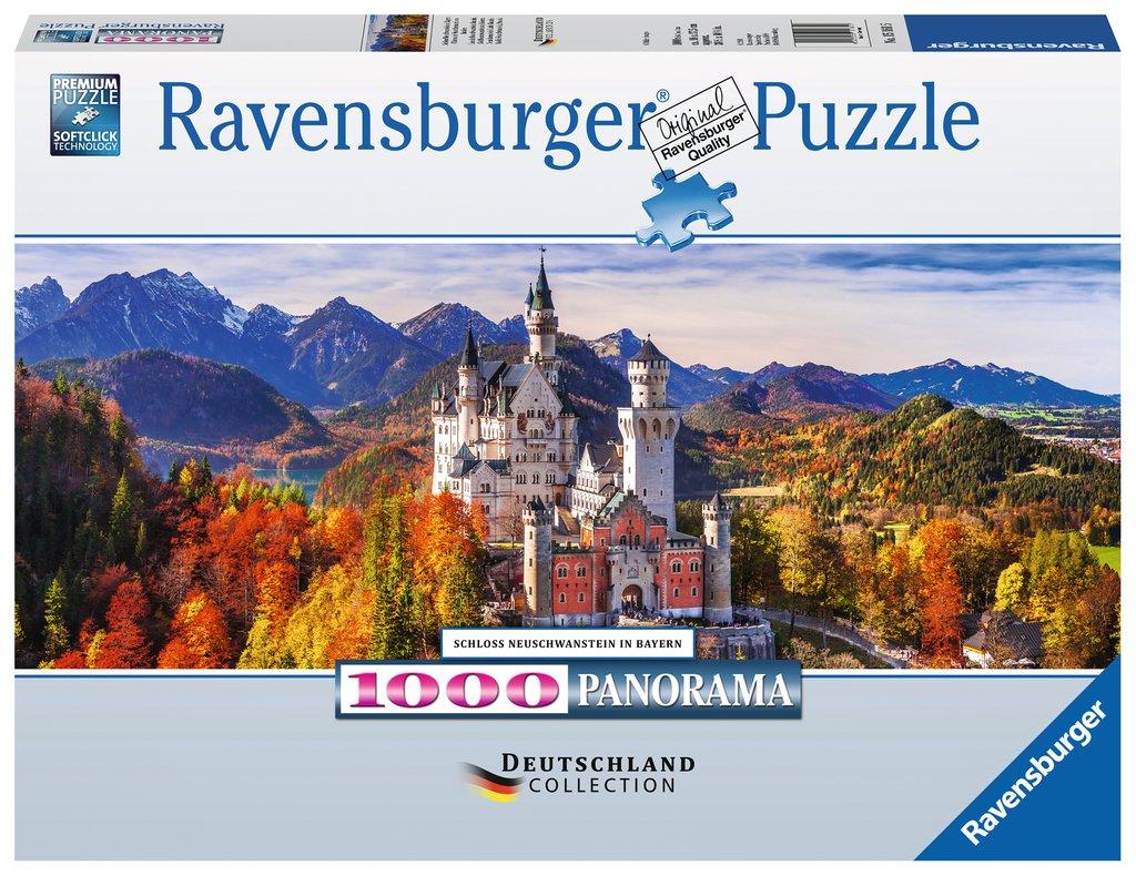 Puzzle Ravensburger Castillo Neuschwanstein de 1000 Pieza