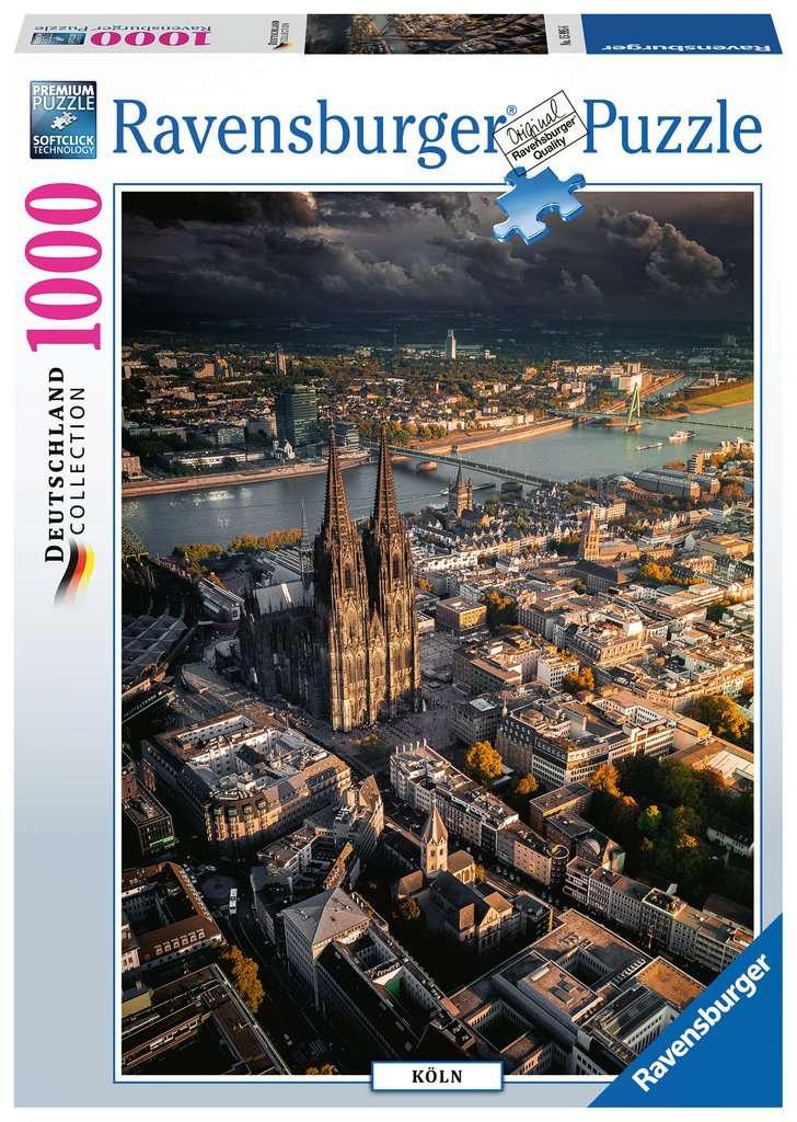 Puzzle Ravensburger Catedral de Colonia de 1000 Piezas