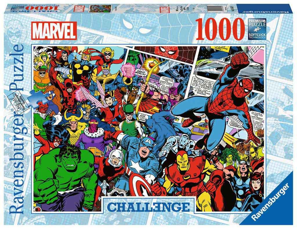 Puzzle Ravensburger Challenge Marvel de 1000 Piezas