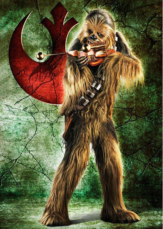 Puzzle Ravensburger Chewbacca Star Wars de 1000 Piezas