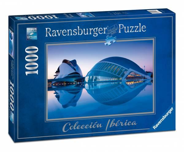 Puzzle Ravensburger Ciudad de las Artes , Valencia 1000 Piezas