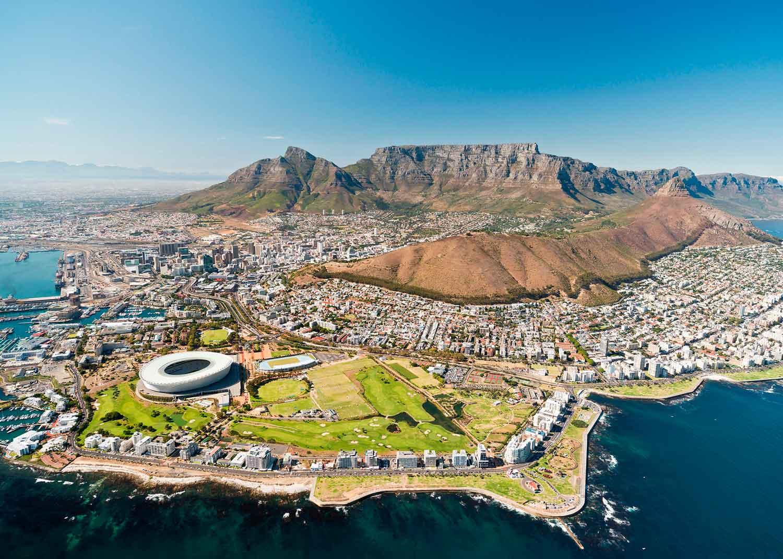 Puzzle Ravensburger Ciudad del Cabo de 1000 Piezas