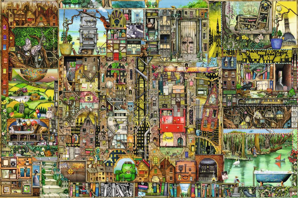 Puzzle Ravensburger Ciudad Excentrica de 5000 Piezas