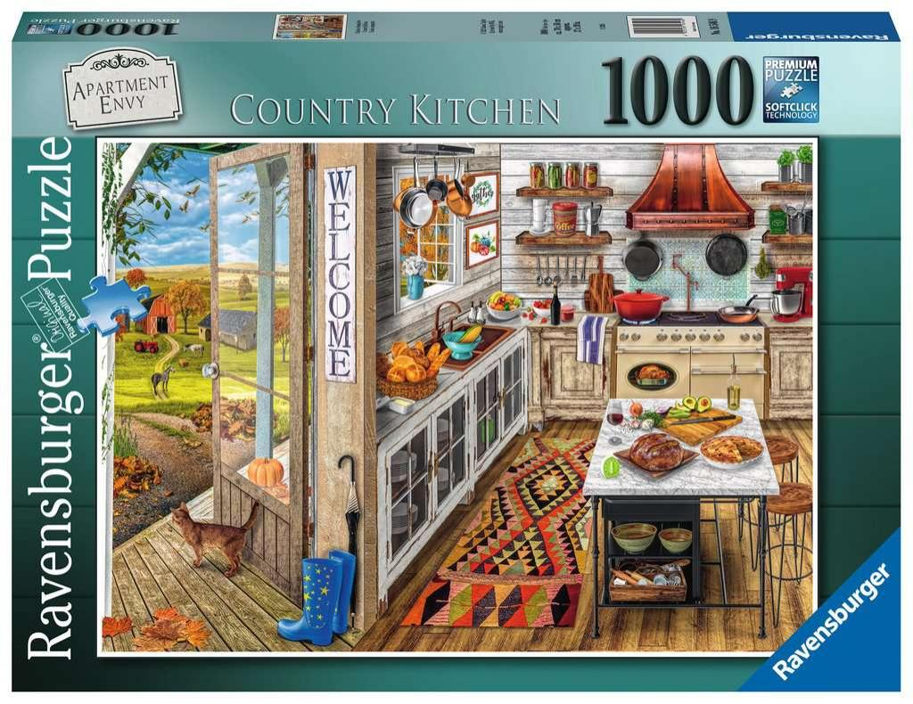 Puzzle Ravensburger Cocina Campestre 1000 Piezas
