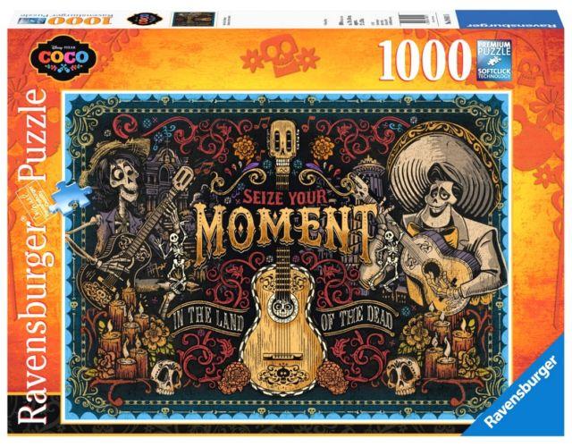 Puzzle Ravensburger Coco, Seize Your Moment de 1000 Piezas