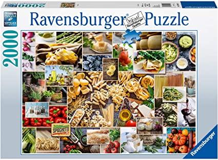 Puzzle Ravensburger Collage de Alimentos de 2000 Piezas