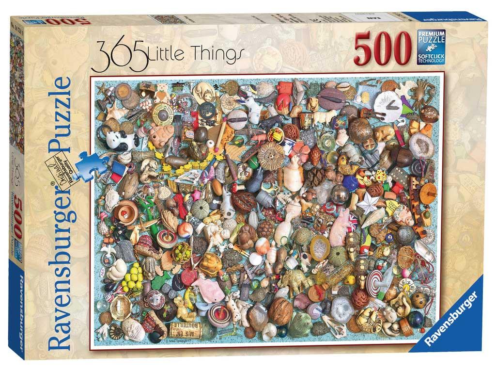 Puzzle Ravensburger Collage de Objetos de 500 Piezas