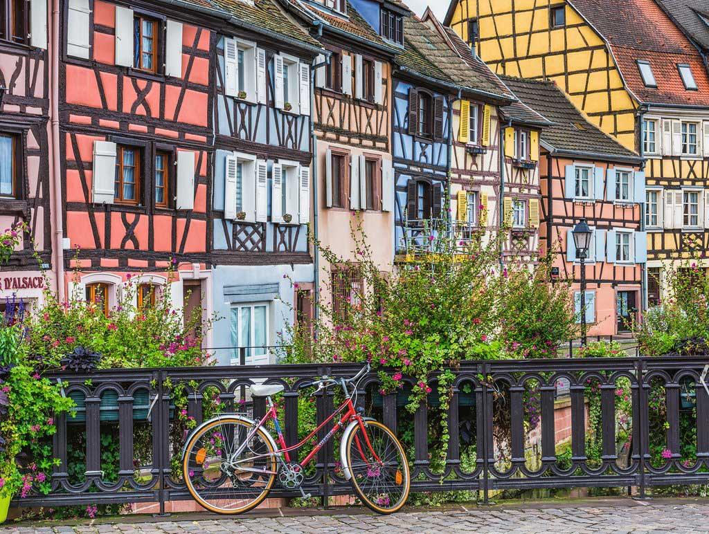 Puzzle Ravensburger Colmar, Francia de 500 Piezas