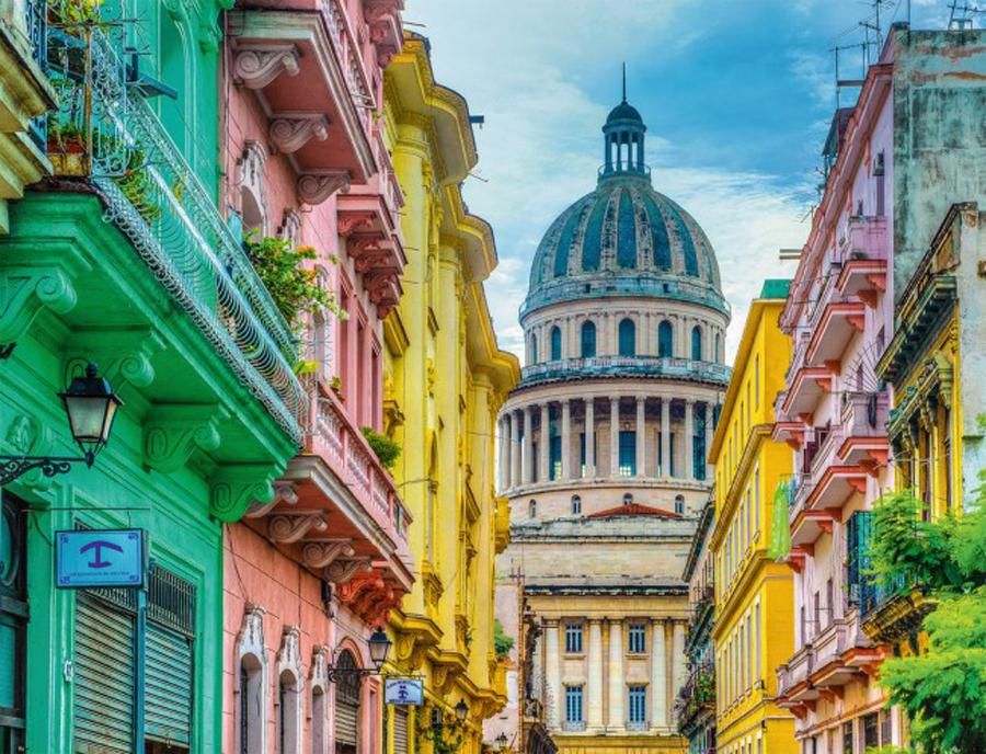 Puzzle Ravensburger Colores de Cuba de 2000 Piezas