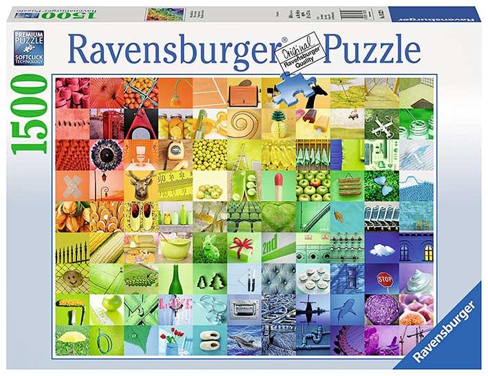Puzzle Ravensburger Colores Hermosos de 1500 Piezas