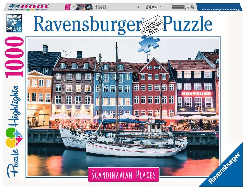 Puzzle Ravensburger Copenhague, Dinamarca de 1000 Piezas