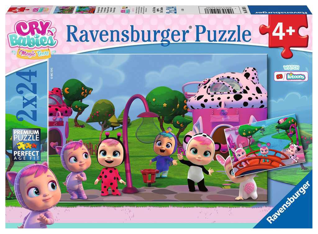 Puzzle Ravensburger Cry Babies de 2x24 Piezas
