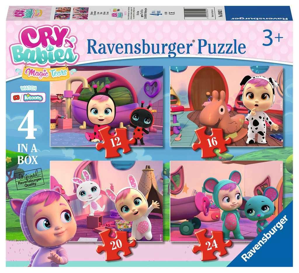 Puzzle Ravensburger Cry Babies Progresivo de 12+16+20+24 Pzs