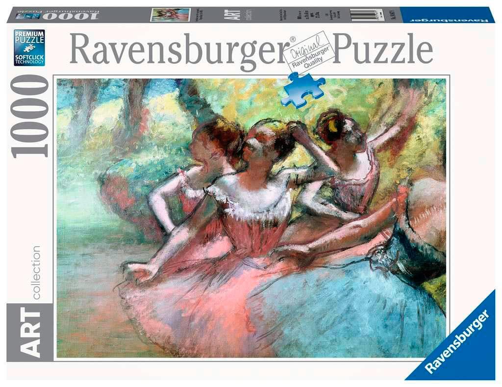 Puzzle Ravensburger Cuatro Bailarinas en el Escenario de 1000 Pz