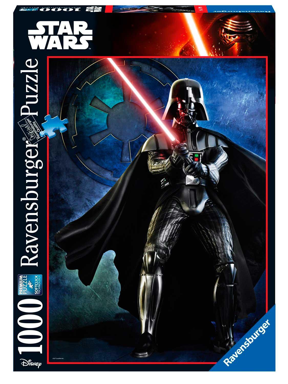 Puzzle Ravensburger Darth Vader Star Wars de 1000 Piezas