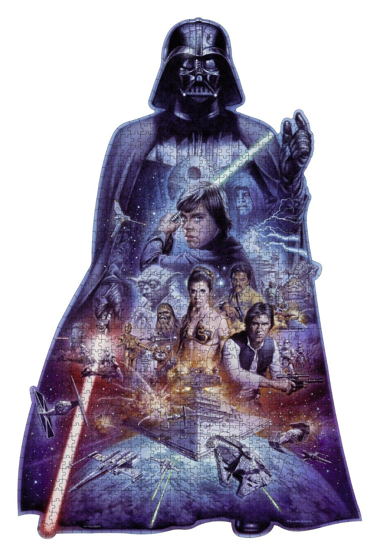 Puzzle Ravensburger Darth Vader, Puzzle Silueta de 1098 Piezas