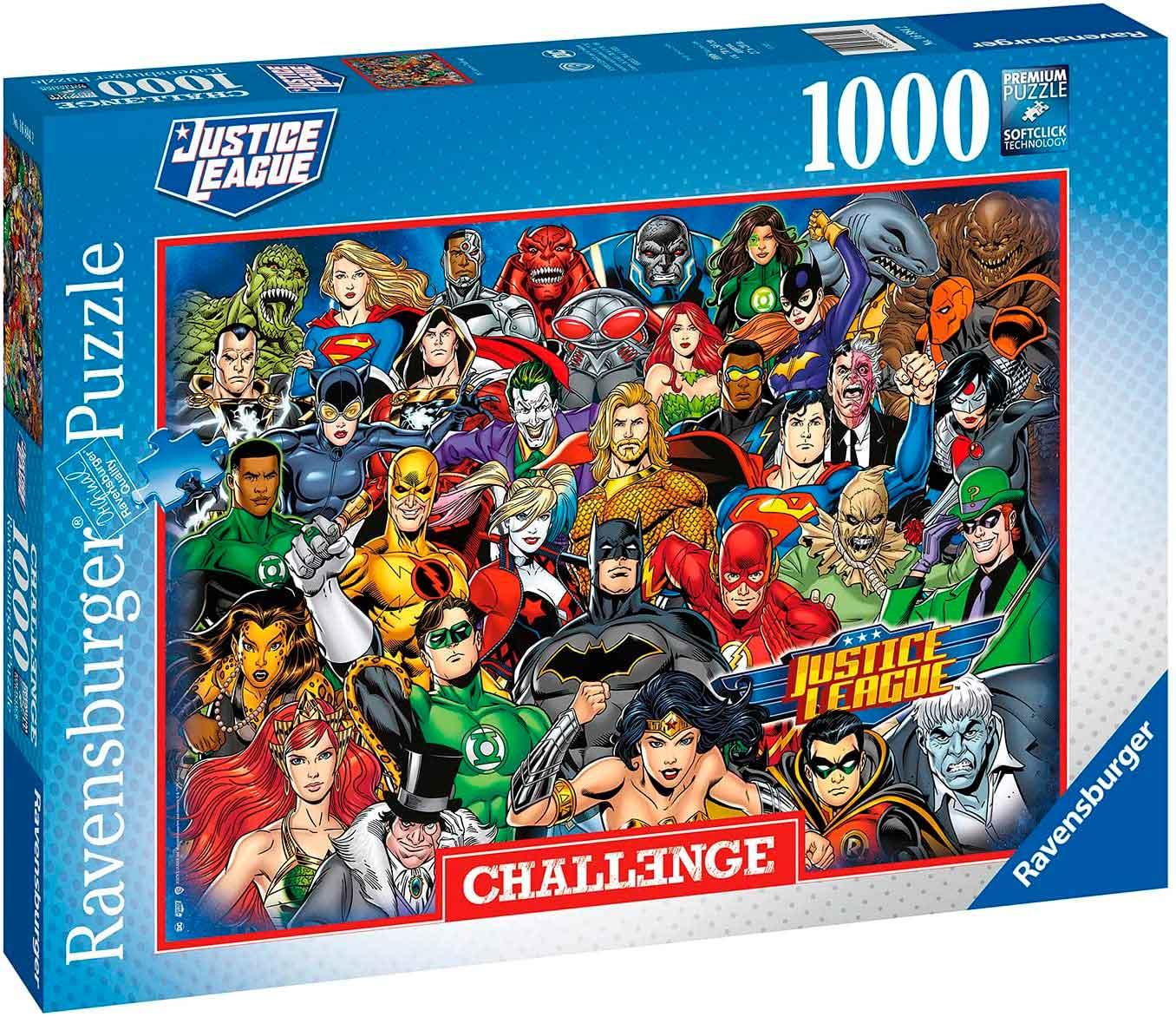 Puzzle Ravensburger DC Comics Challenge de 1000 Piezas